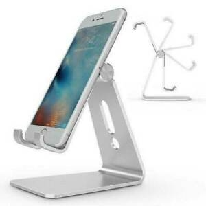 Universal Adjustable Tablet Mobile Phone Holder Stand Desk Swivel Foldable US