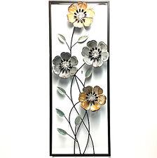 Wall Art Metal Flower Sculpture Hanging Garden Ornament Tree 90cm