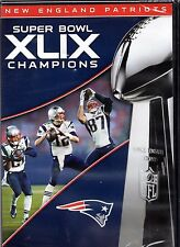 NFL: Super Bowl Champions XLIX (DVD, 2015) New England Patriots
