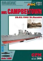 "GENUINE PAPER-CARD ""GPM"" MODEL KIT - HMS ""CAMPBELTOWN"""