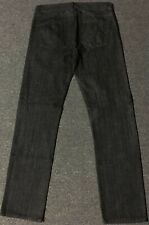 DC Shoes Jeans 30/32 Black Rinsed Droors Clothing Fourstar Matix Altamont Vtg