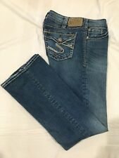(*.*) SILVER JEANS * Womens SUKI SURPLUS Blue Jeans / Denim * Size 30 x 32