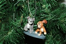 "Lady and the Tramp ""Scamp with Colette"" Christmas Ornament"