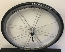 GIPIEMME FRONT WHEEL 24 SPOKE AERO 700 X 23C THICKSLICK TIRE