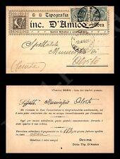 Sora - Tipografia Vinc. D'Amico - 11.5.1921