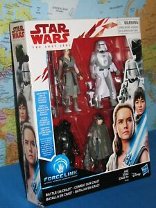 STAR WARS THE LAST JEDI BATTLE ON CRAIT ACTION FIGURE FORCE LINK **BRAND  NEW**