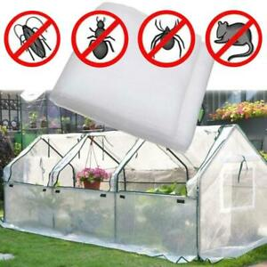 Big Size Portable Flexible Eco Heavy Duty Mesh White Net For Greenhouse Garden
