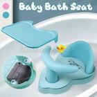 Child Baby Bath Seat Safety Sucker Bathtub Shower Chair Tray Dinner Plat