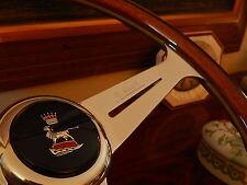"Sunbeam Alpine Tiger Wood Steering Wheel 15.3"" NARDI NOS Orig. Vintage Hub Boss"