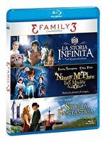 3 Family - Limited Edition - Cofanetto 3 Film In Blu-Ray -  Raro Fuori Catalogo