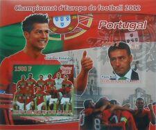 Football Team 2012 Portugal C. Ronaldo P. Bento Mali s/s IMPERF #P234