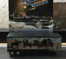 Smokey And The Bandit Custom Trailer Fits Hot Wheels Retro W/ REAL RIDERS 🇺🇸