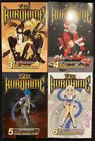 Kurohime 3, 4, 5, 6 Manga Graphic Novel Shonen Jump Fantasy Action English