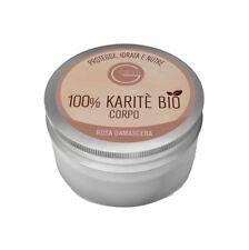 Gesti 100% Burro Di Karitè Bio Corpo Rosa Damascena 200 ml