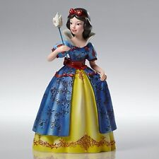 New DISNEY SHOWCASE Figurine SNOW WHITE MASQUERADE Sculpture DOVE MASK PRINCESS