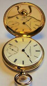 Frühe Patek Philippe Kronenaufzug 750 18K Gold Luxus Taschenuhr TU ca. 1865