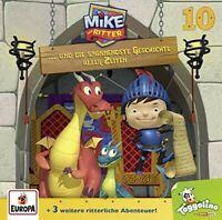 DER RITTER MIKE - 10/UND DIE SPANNENDSTE GESCHICHTE ALLER ZEITEN  CD NEW