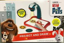 Project And Draw PETS Drawing Station Toy With Interchangeable Slides