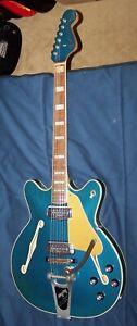 1966 Fender Coronado II Lake Placid Blue with Bigsby Tremolo