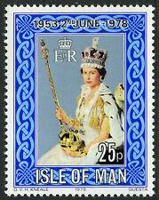 Isle of Man 130, MI 128, MNH. QE II Coronation 25th anniv. 1978