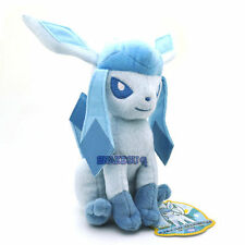 "7.5"" Pokemon Glaceon Plush Soft Doll Toy New+Pc2070"