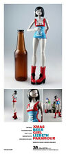 "ThreeA XMAS BEER GIRL - LIZBETH PARAMOUR  12"" Figure 1/6 Scale 3A Pascha 3AA"