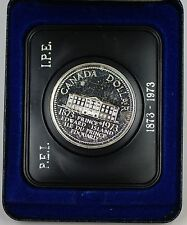 1973 Canada Proof-Like One Dollar $1 Coin Centennial of Prince Edward Island