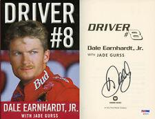 Dale Earnhardt Jr. SIGNED Driver #8 1st Ed 1st Print PSA/DNA AUTOGRAPHED NASCAR