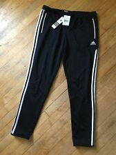 Womens Adidas ClimaCool  Soccer pants Large  Running Gym Black Polyester Micoach