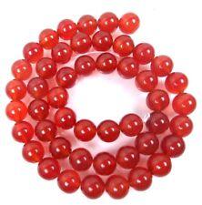 """AA+ 8mm Carnelian Round Beads 15.5"""""""