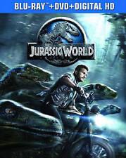JURASSIC WORLD (Blu-ray/DVD + Digital HD, 2-Disc Set) <<BRAND NEW!>> (FREE SHIP)