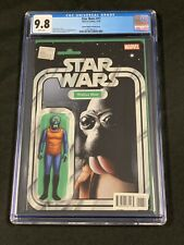 Marvel Star Wars # 17 CGC 9.8 Action Figure Variant Cover  Jtc Walrus Man