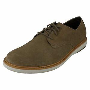 Mens Clarks Casual Lace Up Shoes -Draper Lace