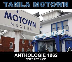 CD Tamla Motown : Anthologie 1962 - Coffret 4 CD