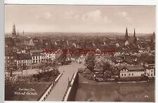 (110455) Foto AK Zwickau, Blick über Paradiesbrücke a.d. Stadt 1930