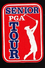Large Fully Embroidered SENIOR TOUR Logo Golf Patch