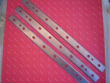 "DeWalt 3 pc. DW735 13"" HSS High Speed Steel Planer Knife Blades Replaceable"