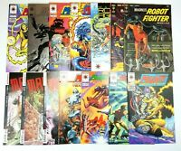Magnus Robot Fighter 14 Comic Book Lot Gold Key Valiant Dynamite