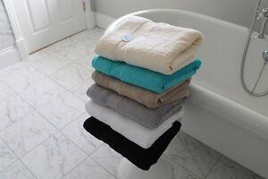 Cazsplash Organic Cotton 650gsm High Quality Bath Towel