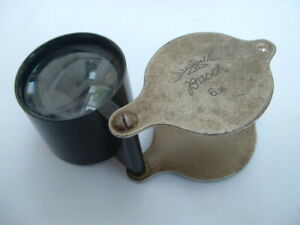 A vintage loupe magnifying Lens by BUSCH X 6.