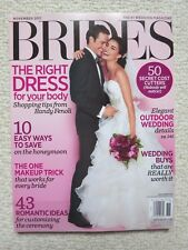 Brides Magazine November 2011 The Right Dress For Your Body Outdoor Wedding