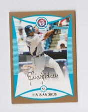 2008 Bowman Draft Prospects Gold #BDPP89 Elvis Andrus Insert Parallel Rangers