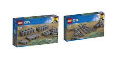 LEGO® City Eisenbahn Set 60205 + Set 60238  Schienen,Kurven Flex  und Weichen