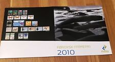 Faroe Post Official Year Set 2010 Complete as Issued - MNH - EXCELLENT!