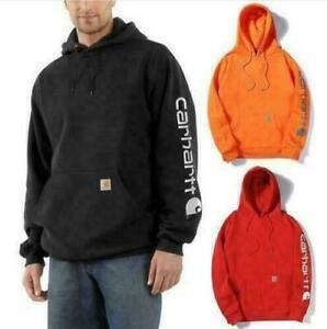 Men's Carhartt Printing Hooded Sweatshirt Long Sleeve Hoodie Unisex pullover Top