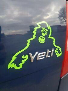 Skoda Yeti Car Exterior Styling Badges Decals Emblems Ebay