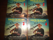 David Gilmour & Polly Samson Signed YES I HAVE GHOSTS CD Pink Floyd