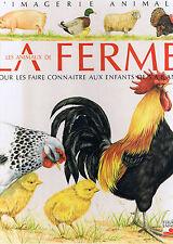 La Ferme imagerie Animale Fleurus éditions Album gd format Vache Cochin Mouton