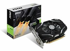 MSI GTX 1050 Ti 4G OC GeForce GTX 1050 Ti Graphic Card - 1.34 GHz Core - 1.46