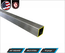 C DOM Tube Bar End Scrap Lot 7//8 Inch Diameter x 1//2 Inch I.D